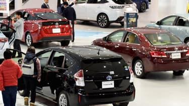 """""""En attendant l'avènement d'une société à hydrogène"""", Toyota compte """"développer tous les types de voitures écologiques""""."""
