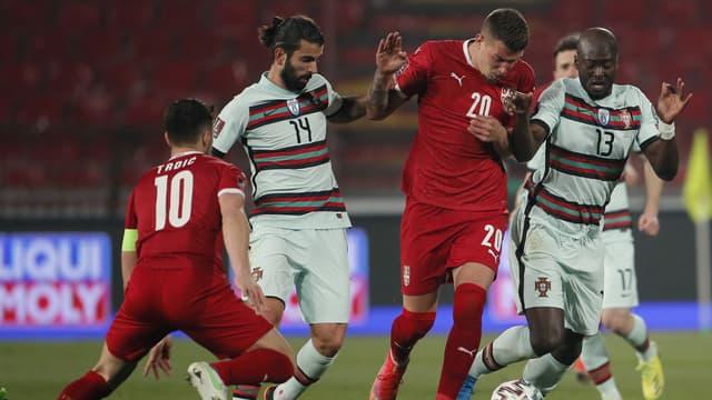 Serbie-Portugal lors des éliminatoires du Mondial 2022