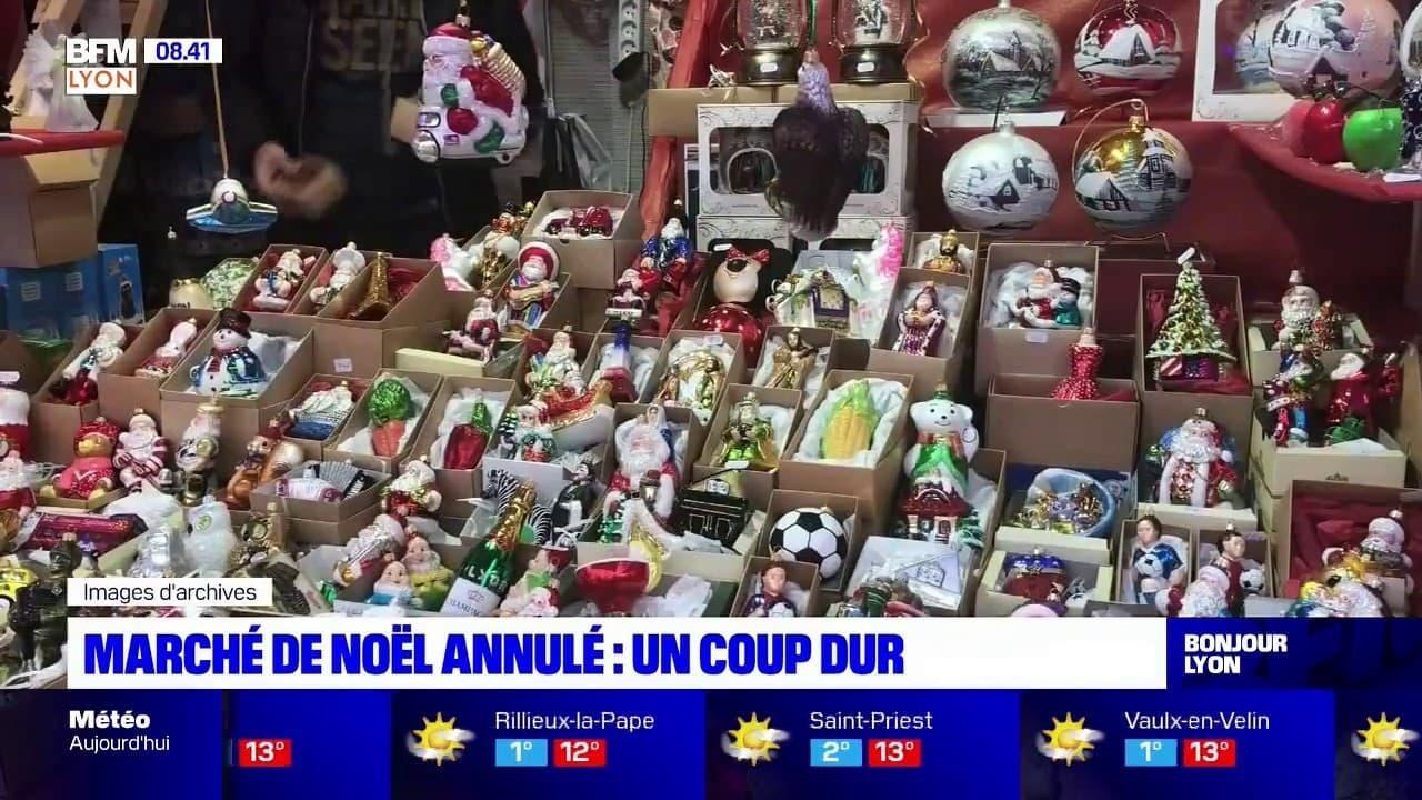 Lyon: l'annulation du marché de Noël, un coup dur pour les commerçants