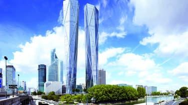 Les Tours jumelles Hermitage Plaza devraient voir le jour pour les JO de 2024