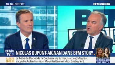 "Nicolas Dupont-Aignan: ""L'enjeu, c'est de dessiner une Europe qui serve aussi la France"""