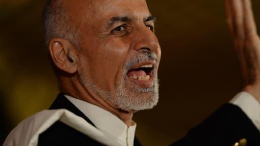 Ashraf Ghani, le 25 juin 2014.