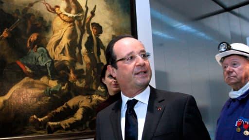 François Hollande a inauguré mardi la nouvelle antenne du Louvre à Lens