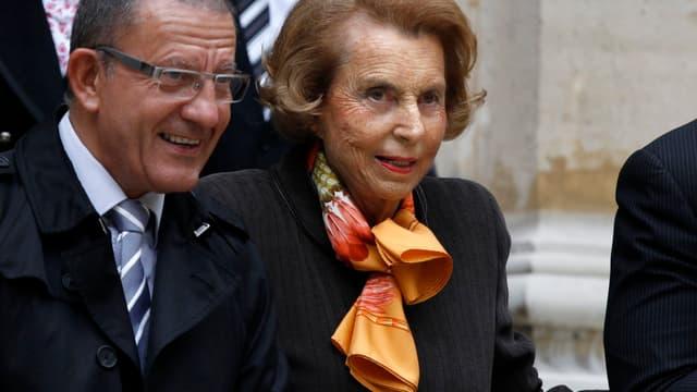 Liliane Bettencourt est à la tête de l'empire L'Oréal.