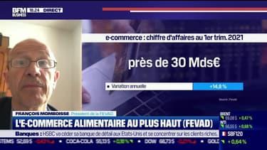 François Momboisse (FEVAD) : L'E-commerce alimentaire au plus haut - 27/05