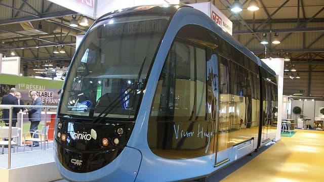 Le tramway exposé en 2011