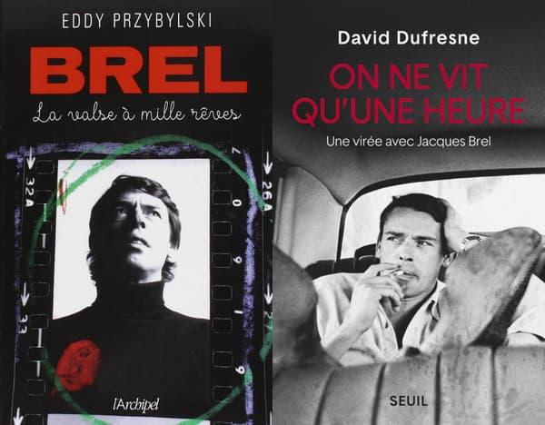 Des livres sur Jacques Brel