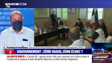 Story 3 : Emmanuel Macron en visite à l'hôpital de Pontoise - 23/10