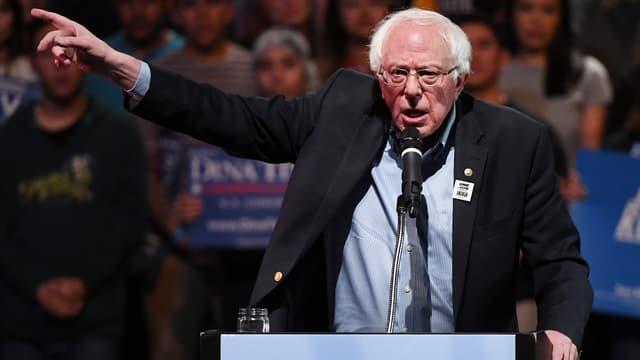 Bernie Sanders lors de la campagne des midterms, le 25 octobre 2018.