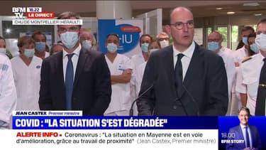"""Jean Castex: """"Si nous ne réagissons pas collectivement, nous nous exposons à un risque élevé de reprise épidémique"""""""