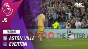 Résumé : Aston Villa 3-0 Everton - Premier League (J5)