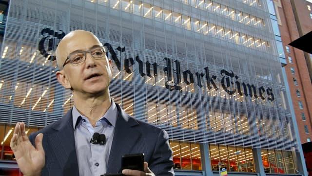 Jeff Bezos, le patron d'Amazon (et du Washington Post) n'a pas du tout apprécié l'enquête à charge du New York Times.