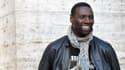 """Omar Sy lors du shooting du film """"De l'autre côté du périph"""", à Rome le 21 mars 2013."""