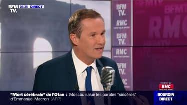"""""""J'ai toujours combattu EuropaCity."""" Nicolas Dupont-Aignan se dit satisfait de l'abandon du projet"""