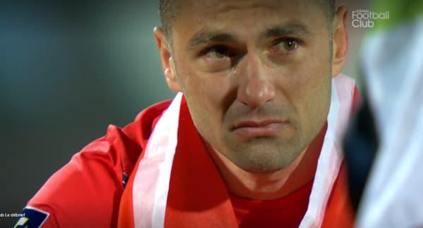 Burak Yilmaz en larmes