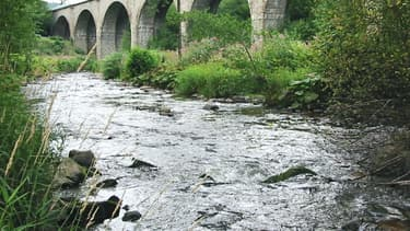 La rivière de la Bruche.