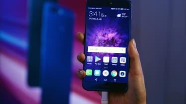 Le constructeur chinois Huawei est devenu, en juin et juillet, le deuxième fabricant mondial de smartphones. (image d'illustration)