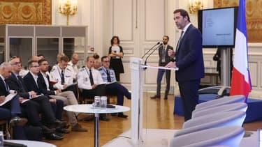 Christophe Castaner lors du séminaire organisé place Beauvau ce lundi 17 juin 2019.
