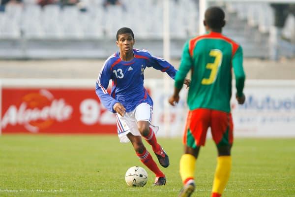 Loic Négo lors de France / Cameroun - Mondial Minimes (U16)