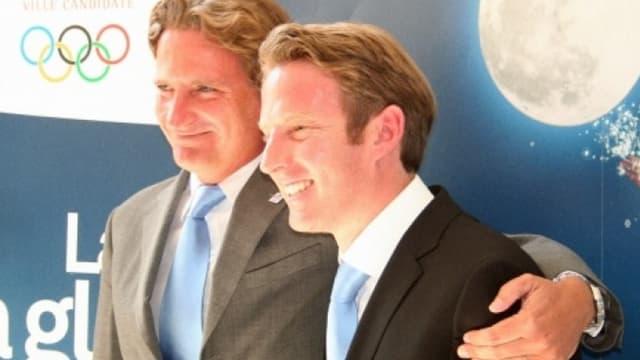 Charles Beigbeder et Jean-Pierre Vidal