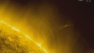 La comète ISON n'a pas survécu à son passage proche du soleil.