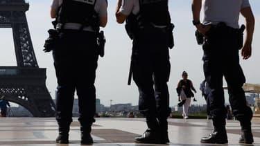 Des forces de l'ordre à Paris (Photo d'illustration).
