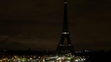 La Tour Eiffel sera éteinte ce mercredi soir