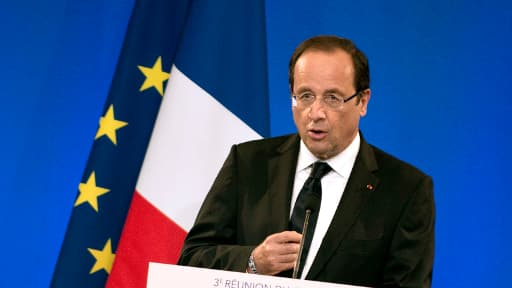 François Hollande, en juillet 2012