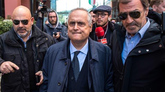 Claudio Lotito, président de la Lazio