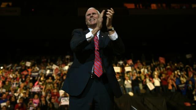 Mike Pence, le prochain vice-président des États-Unis, lors d'un meeting le 1er décembre dans l'Ohio