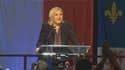 """""""Le Front national sera """"la première force d'opposition dans plupart des conseils régionaux de France"""", a déclaré Marine Le Pen."""