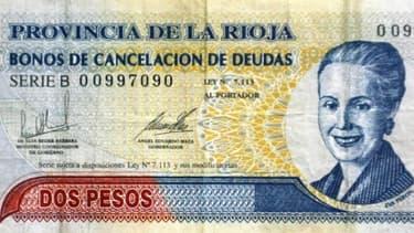 Le devise argentine chute