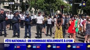 14 Juillet: un hommage aux militaires et aux soignants à Lyon