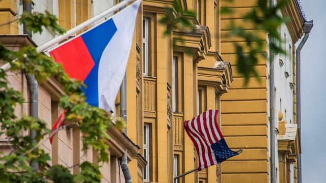L'ambassade américaine à Moscou, le 31 juillet 2017.