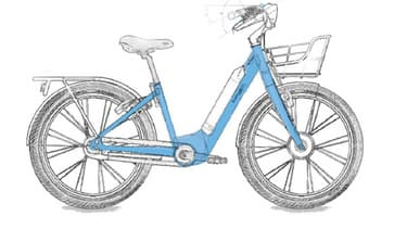 "Un vélo du nouveau service ""Véligo Location"""