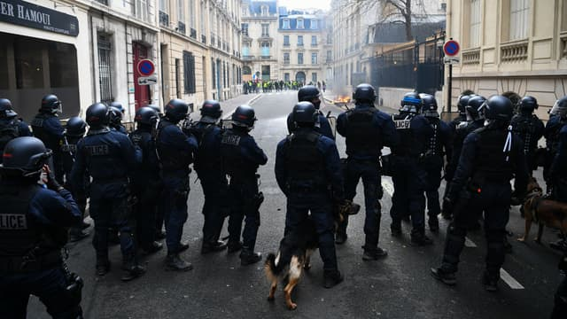 80.000 policiers et gendarmes seront déployés dans la France.