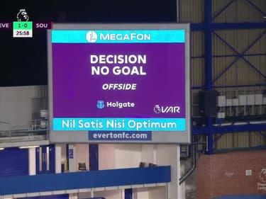 Résumé : Everton 1-0 Southampton - Premier League (J26)