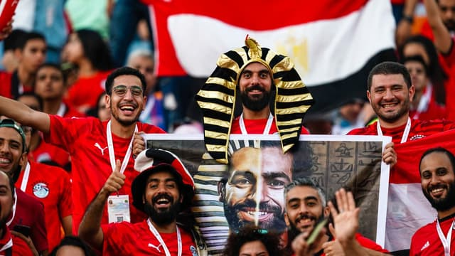Supporters Egypte