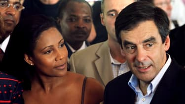 Christine Kelly avec François Fillon en 2008