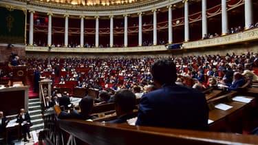 L'Assemblée nationale le 4 juillet 2017