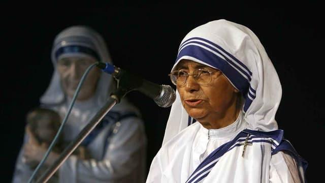 Soeur Nirmala en 2007 à Calcutta.