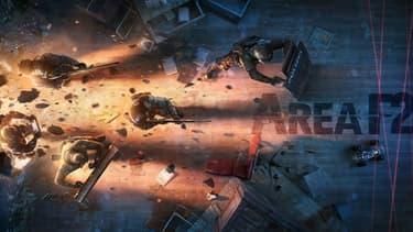 Ubisoft considère que le jeu Area F2 est une copie de Rainbow Six: Siege