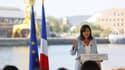 La maire de Paris a annoncé sa candidature ce dimanche depuis les docks de Rouen.