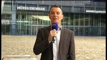 Vincent Autin, futur premier marié homosexuel de France, à Montpellier le 28 mai 2013.