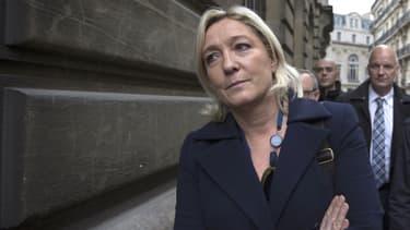 Marine Le Pen, le 25 avril dernier.