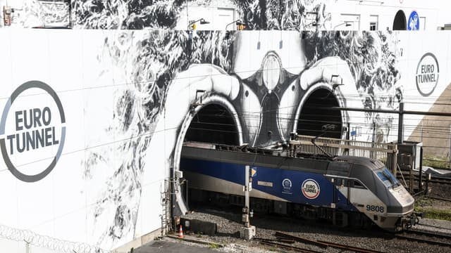 L'Eurotunnel (illustration)