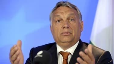 Le Premier ministre hongrois Viktor Orban, le 3 septembre 2015.