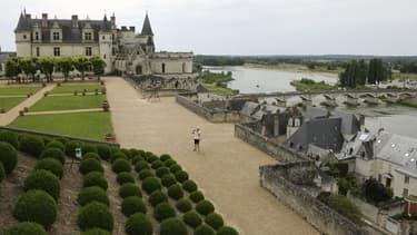 Les président français et italien sont attendus au château d'Amboise.