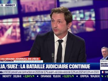 Bertrand Camus, Directeur Général de Suez, était l'invité du Grand Journal de l'Eco sur BFM Business