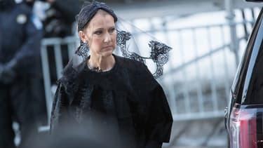 Céline Dion aux obsèques de René Angélil